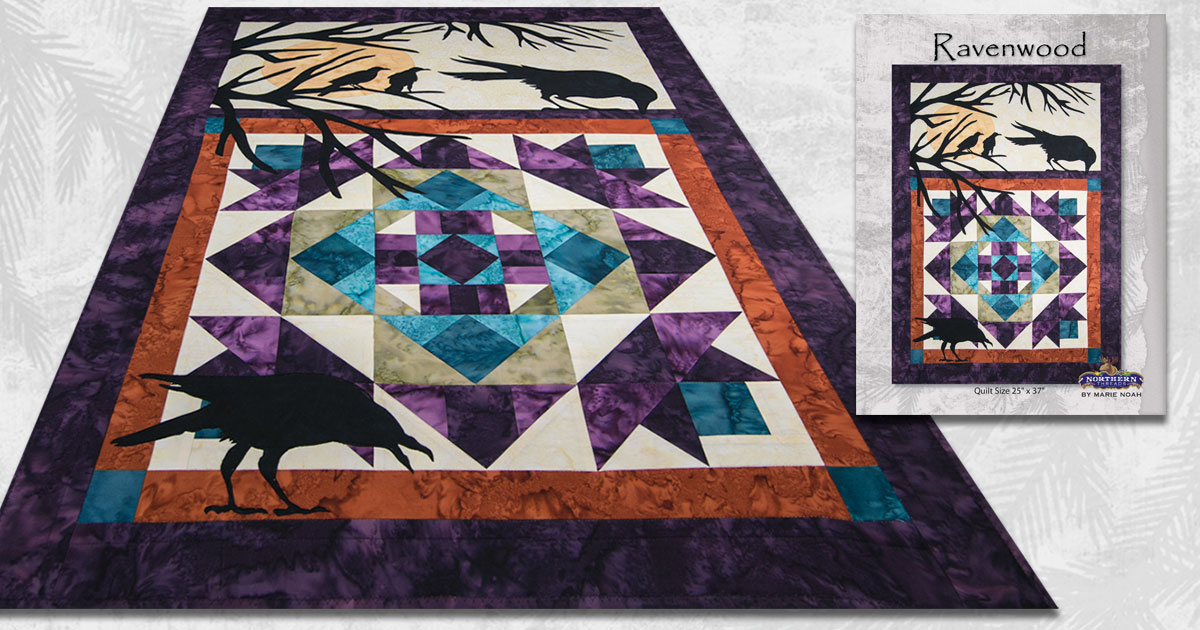 Easy Applique Art Quilts By Marie Noah Northern Threads